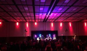 DJ en accompagnement des Karma Kameleons au Centre des Congrès de Lévis