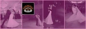 Couple qui danse a un mariage
