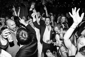 Mariage party en feu
