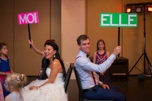 jeu des mariés - crédit photo Karine Bilodeau kbilodeau.com mariage jeux animation