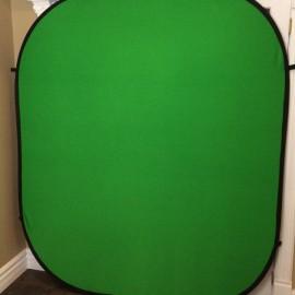 fond vert pour photo booth utilise a quebec