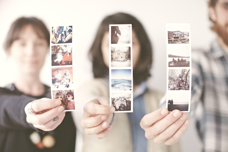 photo en main