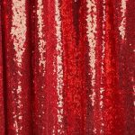 fond photo rouge a paillettes